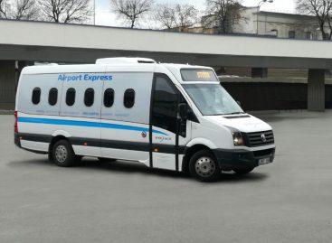 Į Vilniaus oro uostą veža nauji TOKS mikroautobusai