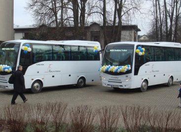 Nauji autobusai – Trakų gyventojams