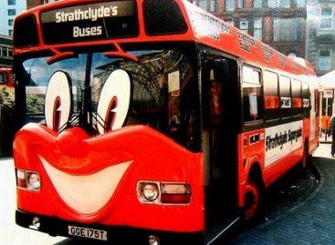 Originalus autobusų dizainas