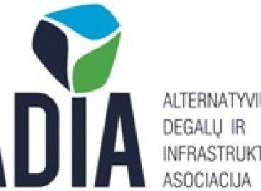 Alternatyviųjų degalų ir infrastruktūros asociacija (ADIA) – švaresnei aplinkai