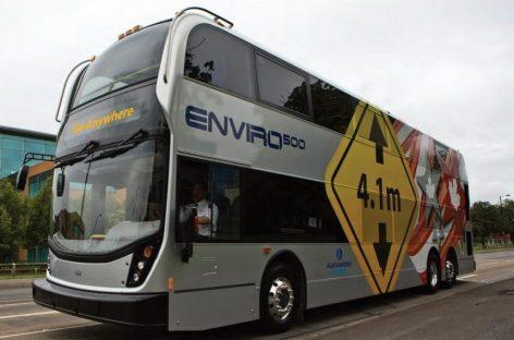 Dviaukščiai autobusai – Amerikai