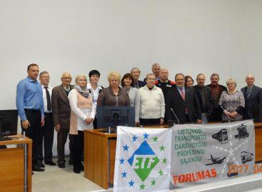 Lietuvos transporto darbuotojų profesinių sąjungų Forumo susirinkime – aktualiausi klausimai