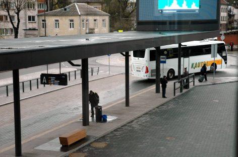 Keleivių vežėjai autobusais siekia sąžiningos konkurencijos
