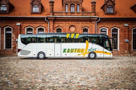 Patogesnės kelionės naujais autobusais – visoje Lietuvoje