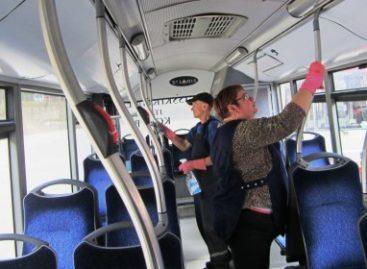 Unikali švaros iniciatyva Vilniaus viešajame transporte