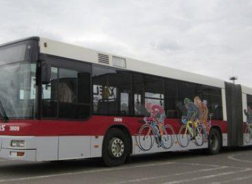 Vilniaus dviračių infrastruktūrą papildė specialūs autobusai