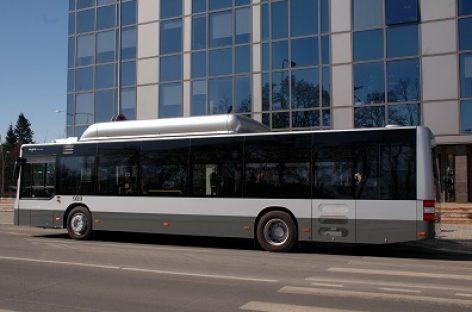Lukiškių g. atkarpoje Vilniuje keisis viešojo transporto eismas
