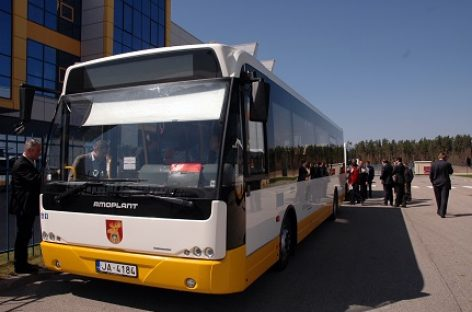 Latvijoje ketinama surinkinėti elektrinius autobusus