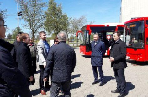 Alytuje pristatyti miesto autobusai
