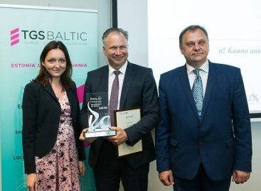 Kauno autobusų stočiai – garbingas apdovanojimas