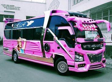 Įspūdingi Kenijos autobusai