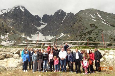 Kauniečiai keliavo į Slovakijos Tatrus