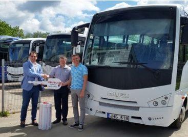 Vilniaus rajono autobusų parke – naujas autobusas