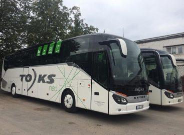 Į pajūrį – moderniais autobusais