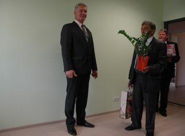Rokiškio autobusų parko direktorius atsisveikina su kolegomis