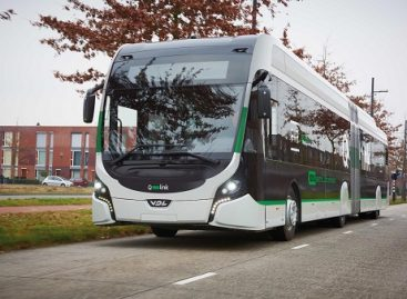 """""""VDL Bus"""" pateiks dešimt elektrinių sudvejintų autobusų įmonei """"Qbuzz"""""""