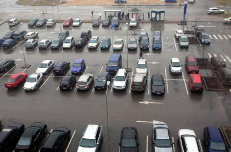 Kaip galima telefonu sumokėti už automobilio stovėjimą Klaipėdoje?