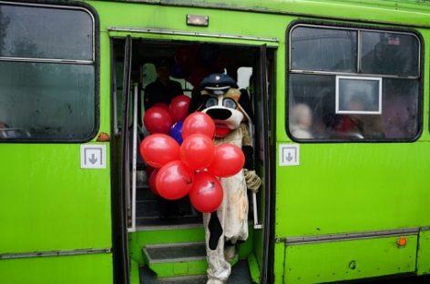Vaikams – apie saugaus eismo taisykles viešajame transporte