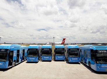 Kinietiški BYD autobusai – ir Australijoje