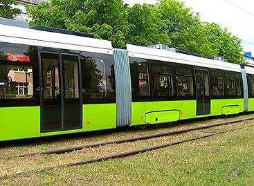 Minske išbandomas 30 metrų ilgio tramvajus