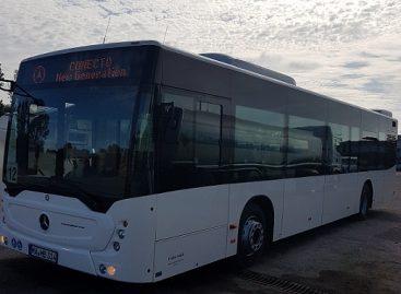 """Pusę mėnesio šiauliečiai bandys naują """"Mercedes-Benz"""" autobusą"""