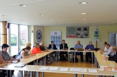 Klaipėdoje – Lietuvos transporto darbuotojų profesinių sąjungų Forumo susirinkimas