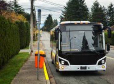 Kanadiečiai renkasi suspaustas gamtines dujas naudojančius autobusus