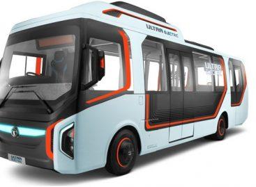 """Indai pristatė elektrinio """"Tata Ultra Electric Bus"""" konceptą"""