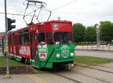 Atsinaujinęs Liepojos viešojo transporto parkas