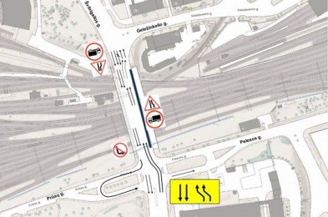 Vilniuje bus rekonstruojamas Rodūnės viadukas – laukia eismo organizavimo pokyčiai