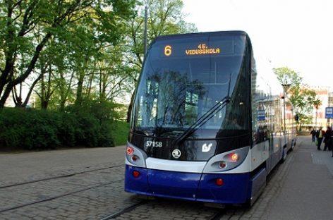 Miesto šventės proga Rygos viešasis transportas veš keleivius nemokamai