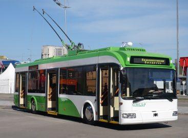 Vitebske iki metų pabaigos bus atnaujinta trečdalis troleibusų parko