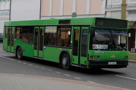 Atnaujinamas Mogiliovo srities viešojo transporto parkas