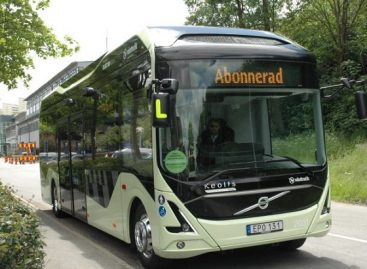 Švedijos Malmės miestas įsigijo trylika elektrinių autobusų