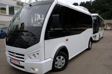 Kauniečiai galės išbandyti naują autobusą