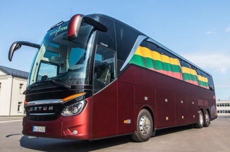 Lietuvos krepšinio rinktinei – neregėto komforto autobusas