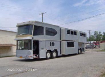 """1985-ųjų """"Neoplan Tour Bus: 45"""" – NASA tyrinėjimams"""