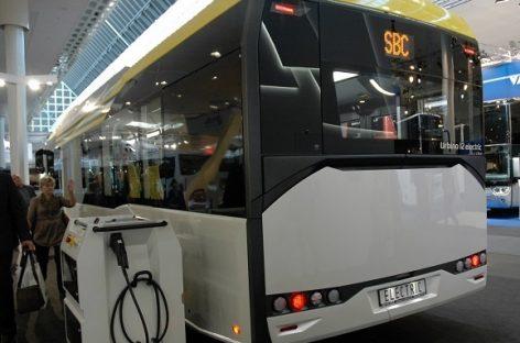 """Elektriniai """"Solaris Urbino"""" važinės Milane ir Bergame"""