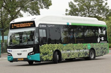 """""""VDL Bus & Coach"""" pristatė du elektrinius autobusus kompanijai """"Arriva"""""""