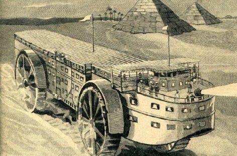 Kaip praėjusiame amžiuje įsivaizdavo 21-ojo viešąjį transportą?