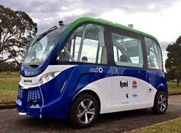 Sidnėjaus olimpiniame parke – autobusas be vairuotojo