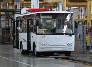 Ukrainiečiai pristatė naują dujinį autobusą