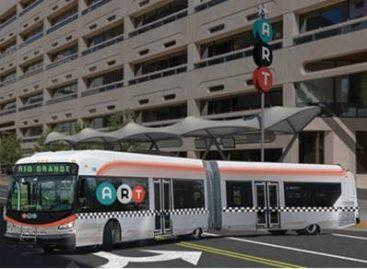 BYD vėl stebina: pristatė elektrinį autobusą BRT sistemai