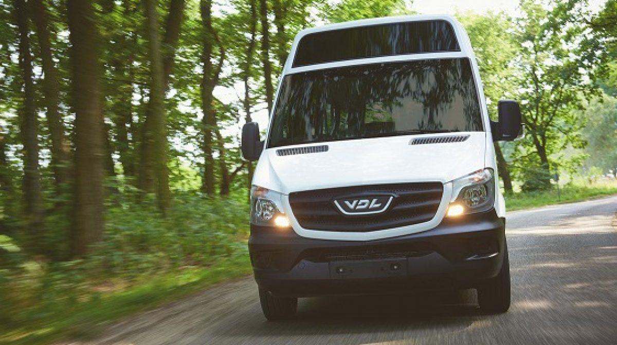 """""""VDL Bus & Coach"""" pristatys elektrinį miesto mikroautobusą"""