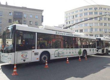 "Ukrainoje – nauji troleibusai ""Dnipro Т-203"""