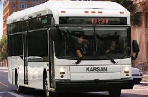 """Turkijos """"Karsan"""" gamintojai siūlo dujinį autobusą JAV rinkai"""