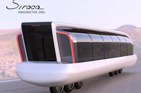 Įdomiausi autobusų konceptai