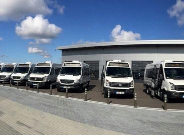 Į Klaipėdos gatves sugrįžo maršrutiniai taksi