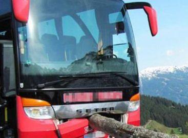Keleivis išgelbėjo autobusą nuo kritimo į prarają