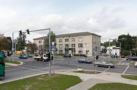 Rekonstruota Savanorių prospekto ir Sausupio gatvių Vilniuje sankryža tapo saugesnė